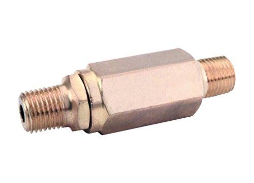 General Pump 100622 Inline High-Pressure Filter, 100 Mesh Screen, Brass, 8.0 GPM, 5000 Maximum psi