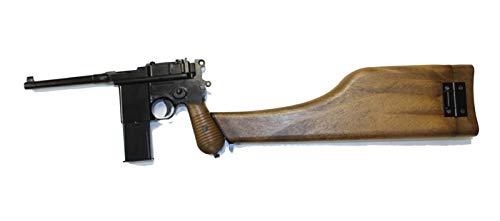 AW MAUSER M712 ガスブローバック フェイクウッド(ストックホルスター付)