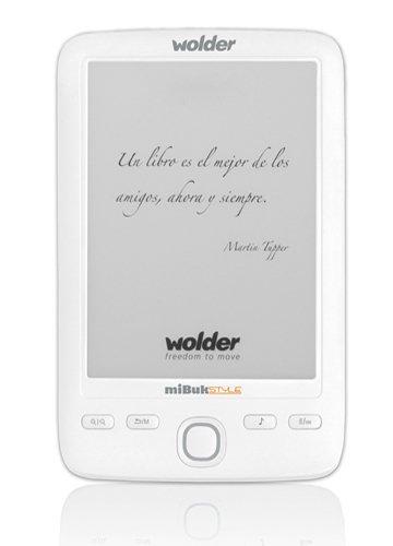 Wolder miBuk Style - Lector de eBooks: Amazon.es: Electrónica
