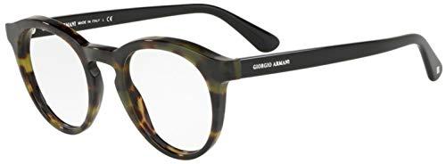Armani GIORGIO 0AR7159 Monturas de gafas, Green Havana, 48 para Hombre