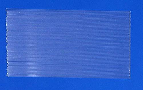無地 パイプトップ20本 全長約20cm 径約1.2mm A23top1212mm200TM ヘラブナ釣 へら ウキ DIY用素材