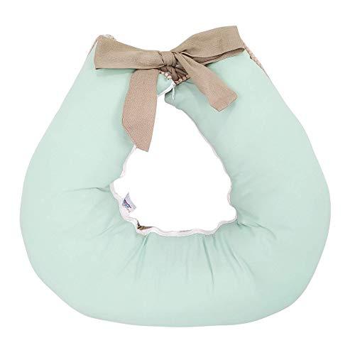 Almofada Amamentação Bebê Unissex Verde Caqui