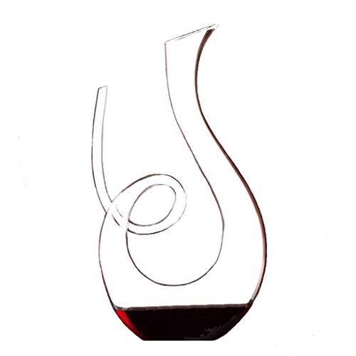 Decantadores De Vino Tinto Vino Tinto De Lujo Ligero En Forma De U Vino Tinto De Cristal Contenedor De Vino En Forma De U De Lujo De La Policía