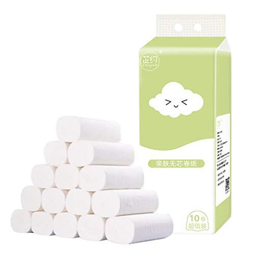 Hygienisches Rollenpapier Erschwingliches kernloses Spezialpapier Handtücher Toilettenpapier