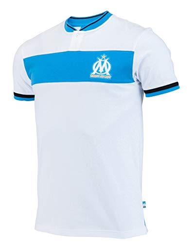 OLYMPIQUE DE MARSEILLE Polo Om - Collection Officielle Taille Homme XL