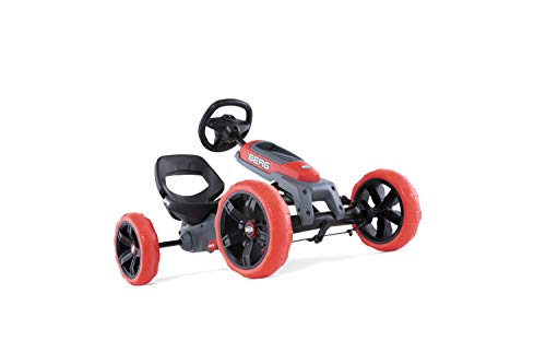 Berg Pedal Car Reppy Rebel | Pedal Go Kart, Ride On Toys for Boys and Girls, Go Kart, Outdoor Games and Outdoor Toys, Adaptable to Body Lenght, Pedal Cart, Go Cart for Ages 2.5-6 Years