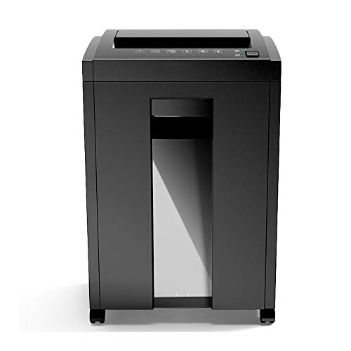 Check Out This LEFJDNGB Paper Shredders for Office Use Heavy Duty,Large Silent Paper/CD/Card Home Office Shredder with Manganese Cutter and 23L Waste Bin