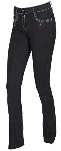 Covalliero Kerbl Reithose BasicPlus, Damen Jodhpurreithose Damenreithose, schwarz, 44