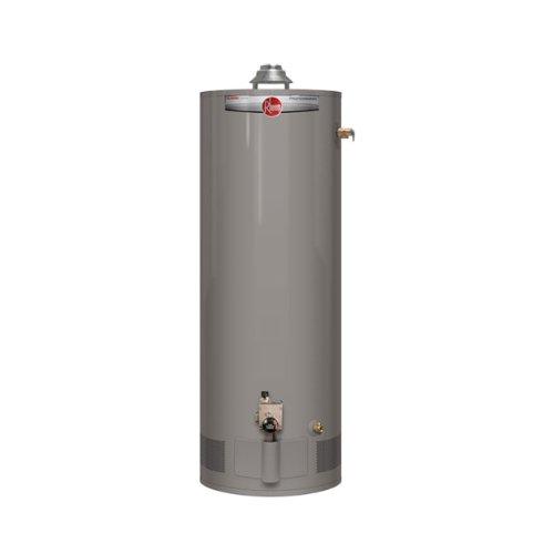 Rheem PROG40-40N RH62 Professional Classic Tall Residential 40K BTU Atmospheric Natural Gas Water Heater, 40-Gallon