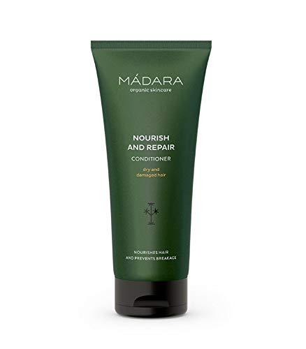 MÁDARA Organic Skincare  Nähr- und Reparatur-Conditioner - 200ml, Mit Nessel und Quitte aus dem Norden, Verhindert Bruch und Spliss, Tiefenpflegend, Vegan, Ecocert-zertifiziert, Recycelbare Verpackung.