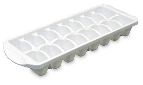Sterilite 72408012 13.13' X 4.88' X 1.63' White Stacking Ice Cube Tray