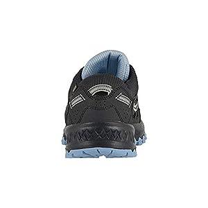 Saucony Women's Versafoam Excursion TR13 Black/Light Blue Running Shoe 8.5 M US