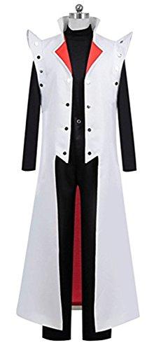 Vicwin-One Anime Seto Kaiba Uniform Cosplay Outfits Cosplay Costume (Male XXL) Black