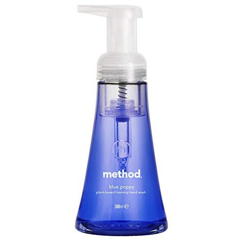 Method Blå Vallmo Naturligt Skummande Handtvätt, 300 ml (Förpackning kan variera)