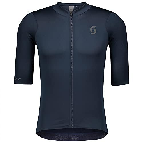Scott RC Premium Fahrrad Trikot kurz Midnight blau 2022: Größe: L (50/52)
