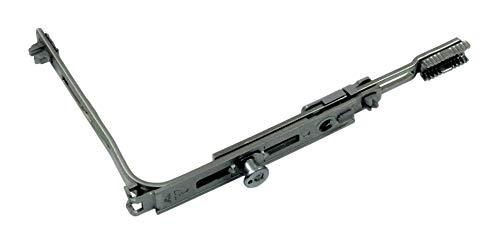 Roto Eckumlenkung 1017 mit 1x V-Zapfen für Bodenschwellen, 170x110mm incl. SN-TEC Montagematerial