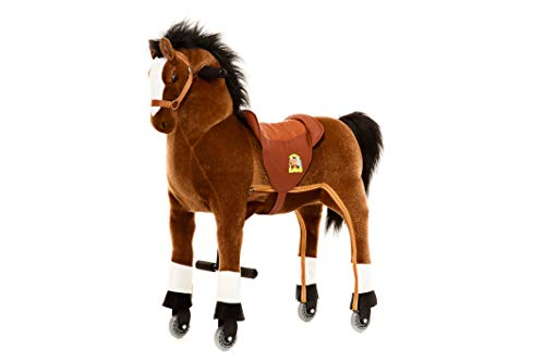 Animal Riding rijpaard M/L bruin