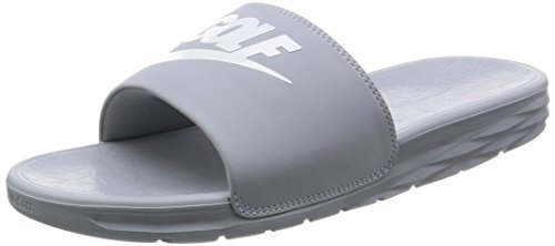 Nike Benassi Solarsoft 2 Men's Golf Slides (Black, 9.0 D(M) US)