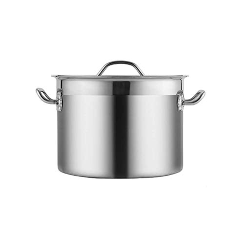MKXF Stainless Steel - Large Stock Pots Home Brew Pot Cooking