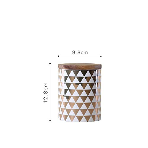 Niaofeces Keramikvase Keramischer Vorratsbehälter Versiegelte Dosenküchenspeichertee-Kaffeekanne