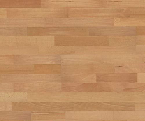 HORI® Parkett 300 Buche Basic gedämpft Schiffsboden 3-Stab versiegelt I für 19,62 €/m²
