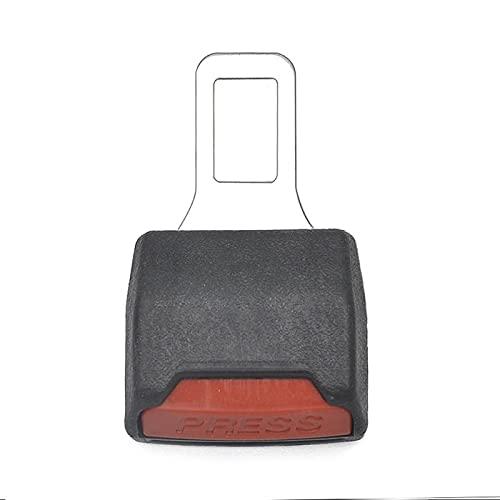 WSNDY 1 Unids Asiento Cinturón De Seguridad Seguridad Cinturón De Seguridad Cinturón Hebilla Clip Extensor Universal Alarma Tapón (Color Name : Black)