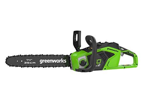 Greenworks Akku-Kettensäge 40 V 1,5 KW (ohne Akku und Ladegerät) -2005707, Grün