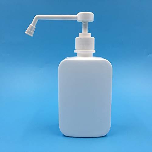 500 ml flessen en potten voor op reis, kunststof fles, oplaadbaar, leeg, draagbaar, transparant, voor make-up, lotion, douchegel