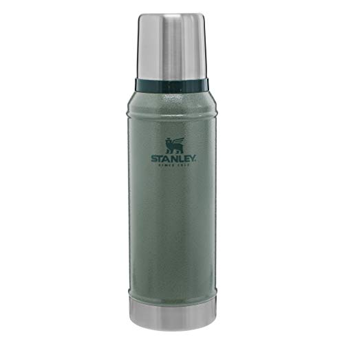 Stanley Classic Legendary Vacuum Insulated Bottle Hammertone Green 1.0qt