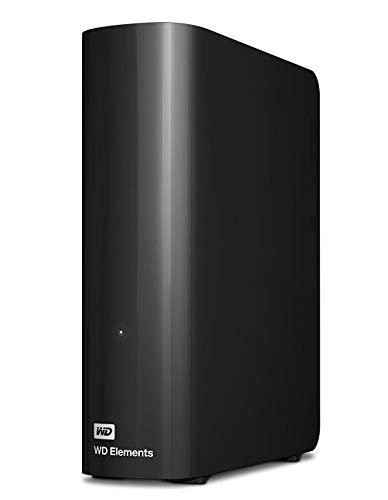 Western Digital 3TB Elements Desktop externe Festplatte USB3.0 -WDBWLG0030HBK-EESN