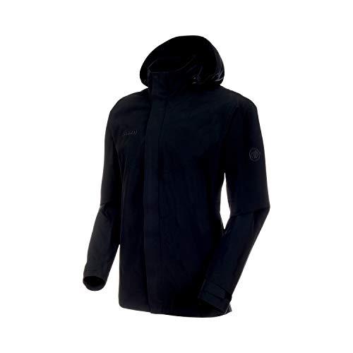Mammut Herren Trovat T-Shirt Hardshell-Jacke Mit Kapuze, Black, XXL