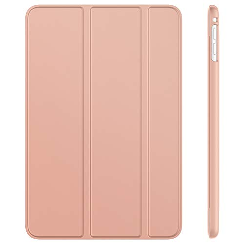 JETech Case for iPad mini 5 (2019 Model 5th Generation), Smart Cover with Auto Sleep/Wake (Rose Gold)