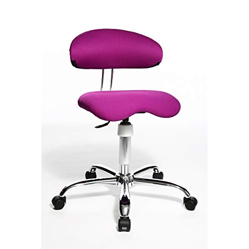 Topstar SITNESS 40 Schreibtischstuhl - 3-dimensional beweglich - lila - Bandscheibenstuhl...