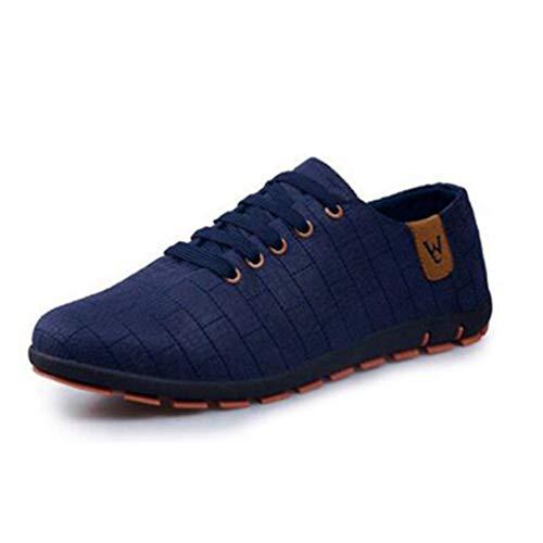 Männer Flats Schuhe Frühsommer Breathable Male Fashion Light Low Lace Up Schuhe