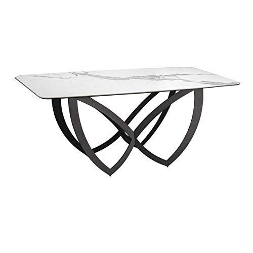 Mesa para comedor con tapa porcelanica FORMAS de Schuller