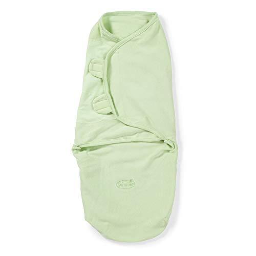 Lampiphant® + Summer Infant Original SwaddleMe® Pucksack, L, Grün
