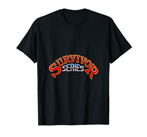 WWE Survivor Series Classic Logo Graphic T-Shirt