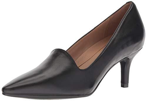 Aerosoles womens Macrame Pump, Black Leather, 5 US