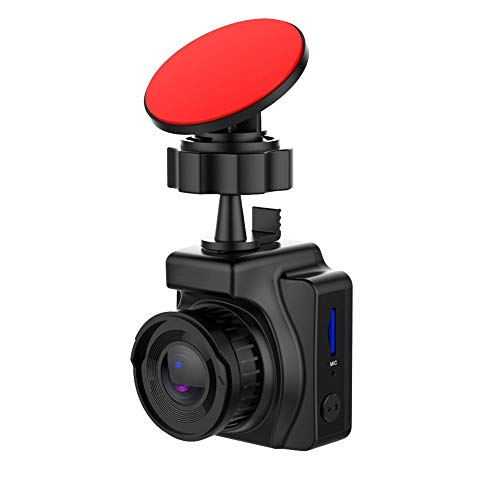 SSZZ 1,5 inch mini Starlight nachtzicht-rij-recorder, 1080p HD full vehicle-opname, zwaartekrachtopname, cyclus-opname