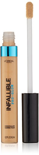 L'Oreal Paris Cosmetics Infallible Pro Glow Concealer, Natural Beige, 0.21 Fluid Ounce