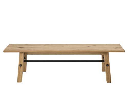 AC Design Furniture Bank Vanessa, B: 170 x T:38 x H: 46 cm, Holz, Braun