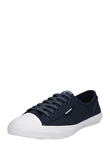 Superdry Damen Low PRO Sneaker, Blau (Navy 11s), 39 EU