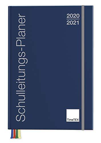 TimeTex Schulleiter-Planer A4-Plus - Schuljahr 2020-2021 - Schulleitungs-Planer - Terminplaner - Schulplaner - Kalender für Schulleiter - Timetex 10725 - Neu – mit breitem Verschlußgummi
