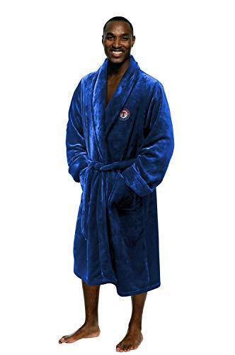MLB Texas Rangers Silk Touch Bath Robe, Men's L/XL