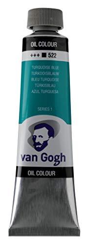 Van Gogh Aceite DE Pintura TURQ Azul, turquesa, talla única
