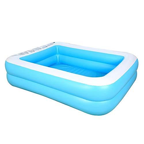 Bling Piscines gonflables Piscines, épaissie Piscines gonflables, Piscine pour Adultes Enfants, Piscine Swim Center, pour Jardin Intérieur Extérieur Cour arrière