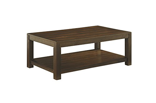 Ashley Furniture Grinlyn Cocktail Table Rectangular/Rustic Brown