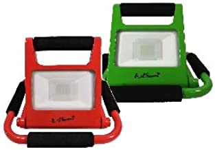 LED Work Light 2 Pk by EAGems - Rechargeable Bright 10 Watt Lamp, Great for Home-Office-Car-Outside/in, Use as Emergency S...