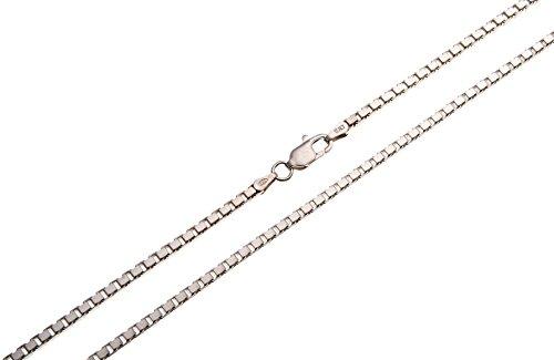 Hochwertige Venezianerkette 2,5mm Breite - 925 Silber, Länge wählbar 38-100cm