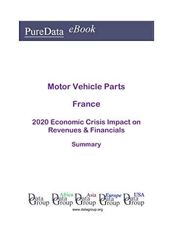 Motor Vehicle Parts France Summary: 2020 Economic Crisis Impact on Revenues & Financials (English Edition)